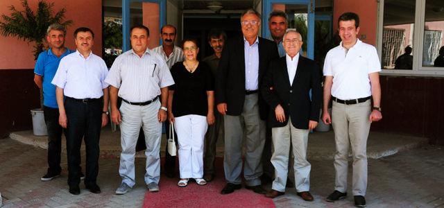 Dünya Ehl-i Beyt Vakfı Genel Başkanı Fermani Altun Afşin'de
