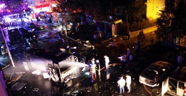Gaziantep'te Hain Saldırı! 8 kişi öldü, 66 kişi yaralandı.