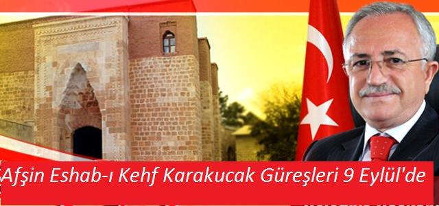 Eshab-ı Kehf Karakucak Güreş Festivali 9 Eylül'de