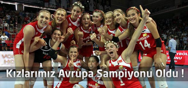 Kızlarımız Avrupa Şampiyonu Oldu !