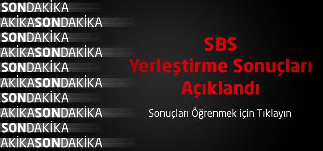 SBS Yerleştirme Sonuçları Açıklandı