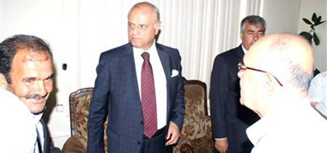 Mehmet Sağlam Hemşerileri ile Bayramlaştı