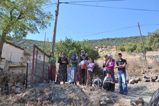 Pazarcık Karabıyıklı Köyüne Geçmiş Olsun Ziyareti