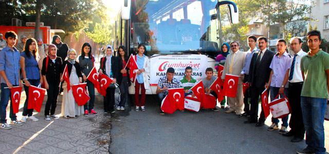 2012 Yılı Cumhuriyet Eğitim Gezisi başladı