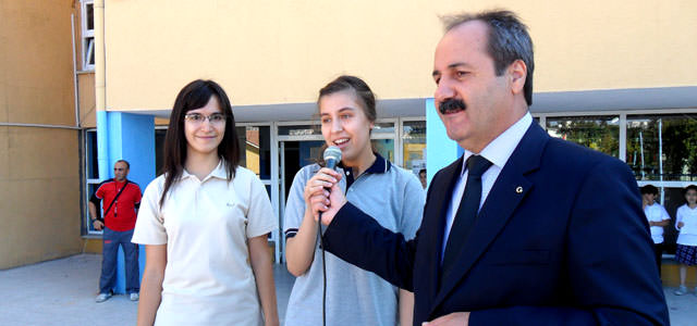 Kahramanmaraş Ortaokulu'nda farklı bir kutlama
