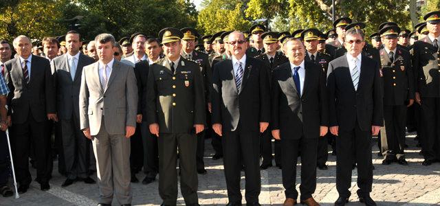 """19 Eylül """"Gaziler Günü"""" ilimizde düzenlenen törenle kutlandı"""