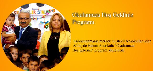 Okulumuza Hoş Geldiniz Programı