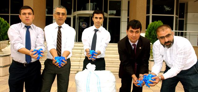 Plastik Kapak Kampanyasına TEÇ-SEN'den destek