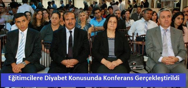 Eğitimcilere Diyabet Konferansı verildi