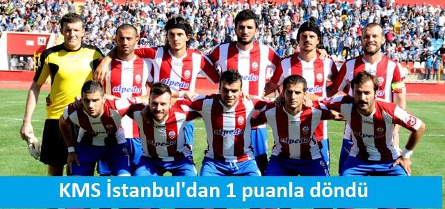 KMS İstanbul'dan 1 puanla döndü
