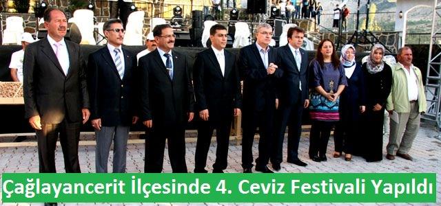 Çağlayancerit İlçesinde 4. Ceviz Festivali Yapıldı