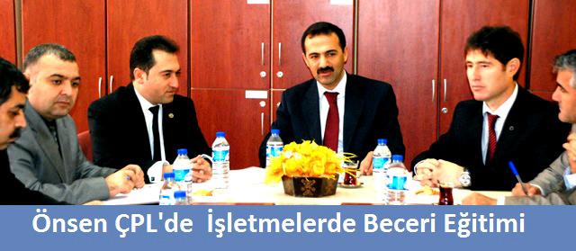 İşletmelerde Beceri Eğitimi Komisyonu Toplantısı yapıldı.