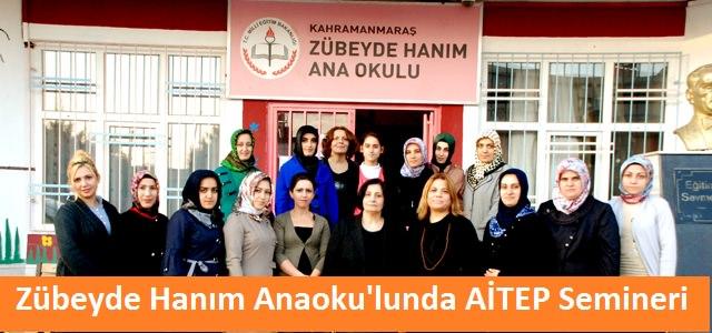 Zübeyde Hanım Anaokulundan AİTEP Semineri