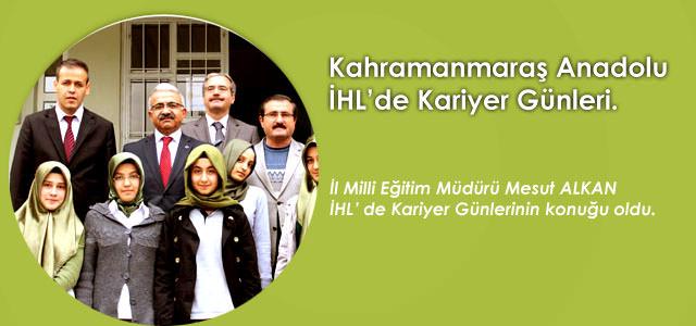 Kahramanmaraş Anadolu İmam Hatip Lisesinde Kariyer Günleri Başladı