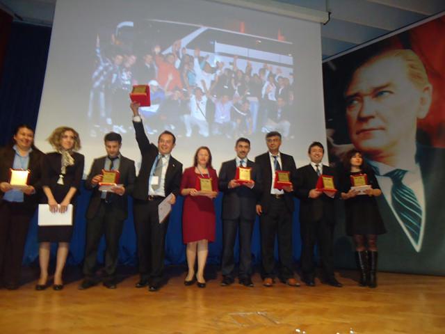 AB Uygulamalı Eğitim Projesi Ödül Töreni