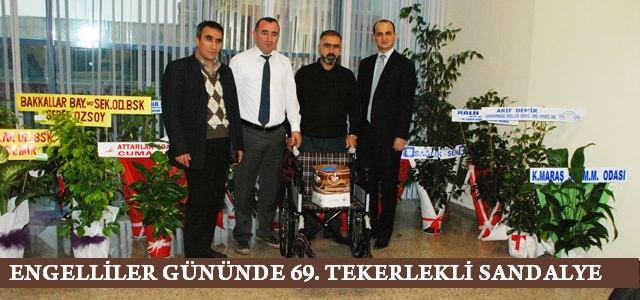 Plastik Kapak Kampanyası 69. Tekerlekli Sandalyesini Verdi