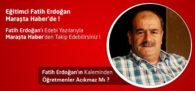 Öğretmenler Acıkmaz Mı ? – Fatih Erdoğan