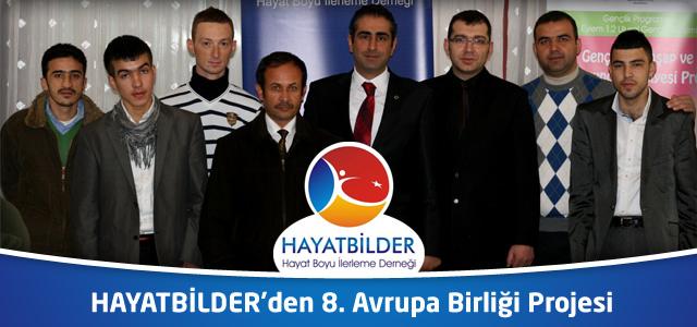 HAYATBİLDER'den 8. Avrupa Birliği Projesi