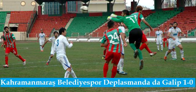 Deplasman Fatihi Kahramanmaraş Belediyespor 1-0