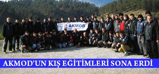 AKMOD'un Kış Eğitimlerini Tamamlandı
