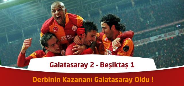 Süper Lig 19. Hafta : Galatasaray 2 – Beşiktaş 1 – İşte Maçtaki Goller