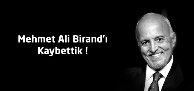 Mehmet Ali Birand'ı Kaybettik ! Haberi Oğlu Umur Birand Doğruladı