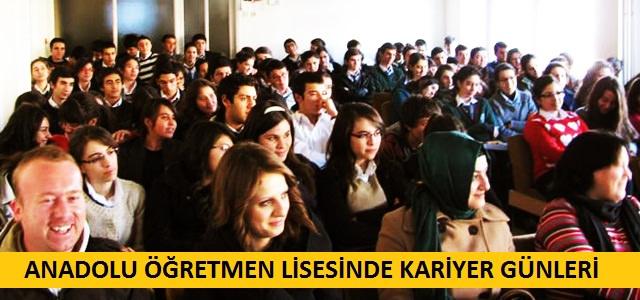 Kahramanmaraş Anadolu Öğretmen Lisesinde Kariyer Günleri