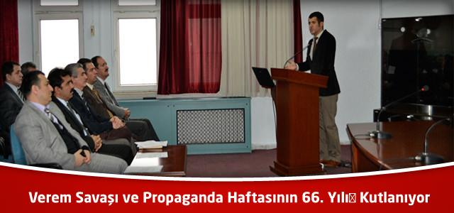 Verem Savaşı ve Propaganda Haftasının 66. Yılı Kutlanıyor