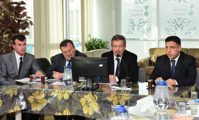 Kahramanmaraş Belediye Başkanı Mustafa Poyraz,Cevdet Kabakcı, Av. Hasan Kara, Mustafa Uzunlar ,Mustafa Poyraz