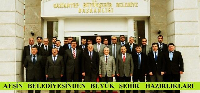 Afşin Belediyesi, Büyükşehir Hazırlıklarını Sürdürüyor