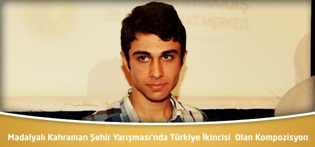 Madalyalı Kahraman Şehir Yarışmasında Türkiye İkincisi Olan Kompozisyon