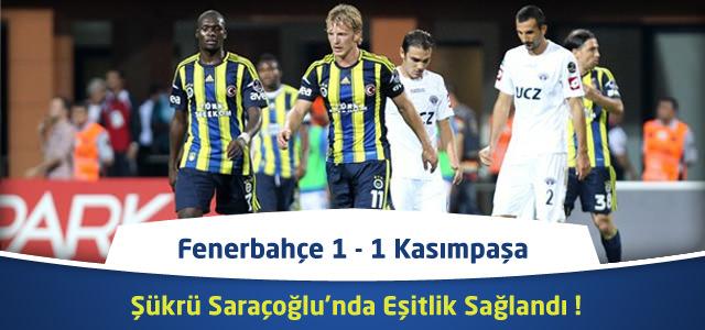 Süper Lig 23. Hafta : Fenerbahçe – Kasımpaşa – Maçın Canlı Özeti