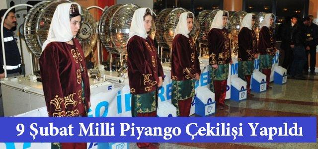 9 Şubat Milli Piyango Çekilişi Kahramanmaraş'ta Yapıldı