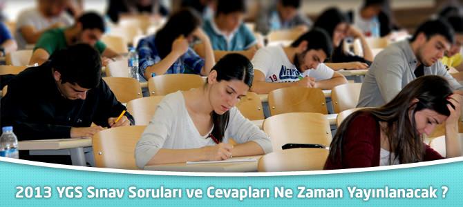 YGS Soruları ve Çözümleri Bugün TRT'de Yayınlanacak !