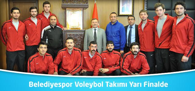 Belediyespor Voleybol Takımı Yarı Finalde