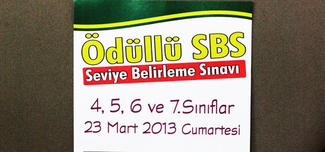 Özel Özderya Kolejinin Bursluluk Sınavı 23 Mart 2013 Cumartesi Günü