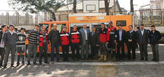 Okullarda Deprem Tahliye, Kurtarma ve Yangın Tatbikatı Yapılıyor.