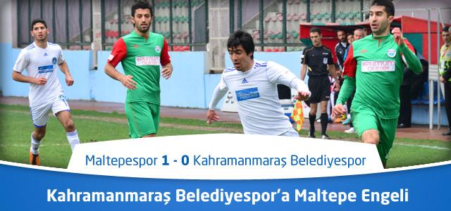Kahramanmaraş Belediyespor'a Maltepe Engeli