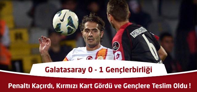 Galatasaray 0 – 1 Gençlerbirliği – Maçın Geniş Özeti