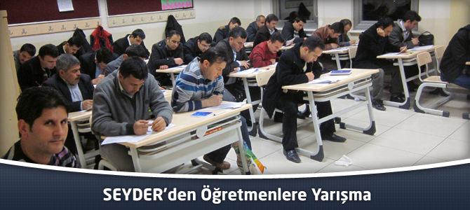SEYDER'den Öğretmenlere Yarışma