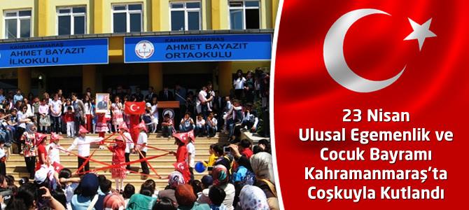 23 Nisan Ulusal Egemenlik ve Cocuk Bayramı Coşkuyla Kutlandı