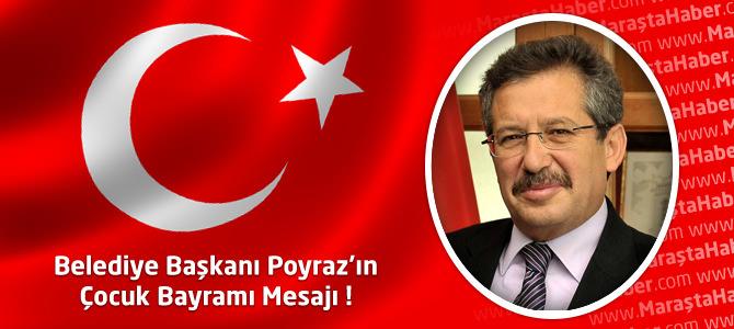 Kahramanmaraş belediye başkanı mustafa poyraz 23 nisan ulusal