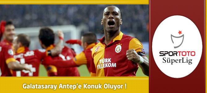 Gaziantepspor 0 – 1 Galatasaray (İkinci Yarı Devam Ediyor)