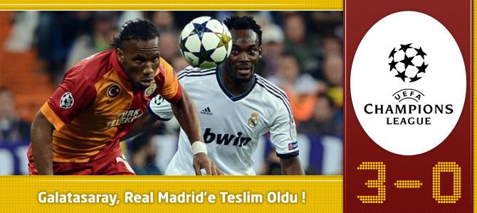Real Madrid 3 – 0 Galatasaray goller ve maç özeti