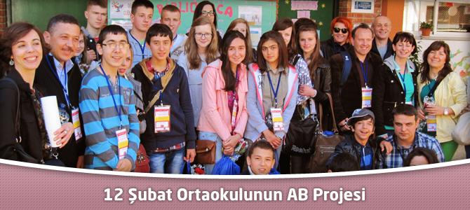 12 Şubat Ortaokulunun AB Projesi