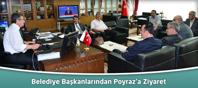 Belediye Başkanlarından Poyraz'a Ziyaret