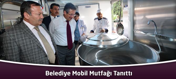 Belediye Mobil Mutfağı Tanıttı