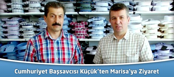Cumhuriyet Başsavcısı Küçük'ten Marisa Tekstil Outlet Mağazası'na Ziyaret