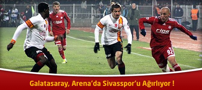 Galatasaray – Sivasspor maçı canlı özeti