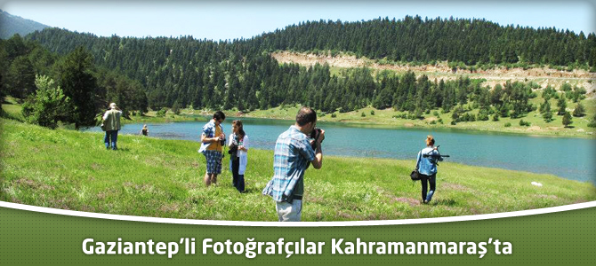 Gaziantep'li Fotoğrafçılar Kahramanmaraş'ta